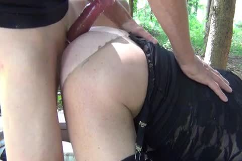 A naughty pound In The Woods
