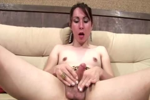 brunette hair shemale sweethearts Her humongous penis