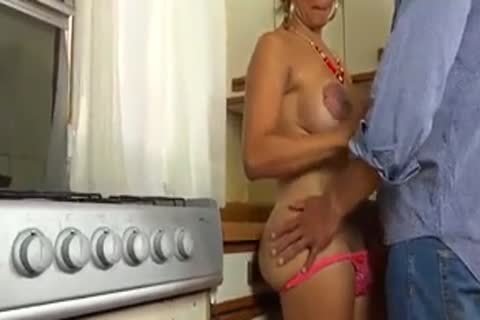 plowing My tasty  sheboy Wife In The  Kitchen