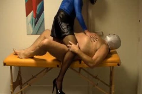 lusty Crossdresser Lisa likes sucking ramrod while Her ass Is Finger hammered