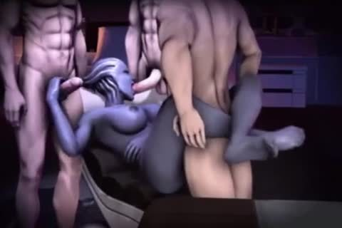 Liara Tsoni 3D Mass Effect dirty Compilation With Sound!
