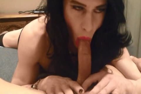 slutty Crossdresser oral sex And anal sex