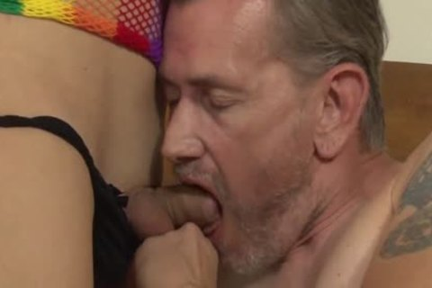 Gianna Rivera receives The Ultimate tranny dream sperm To Life When Shes gangbanged