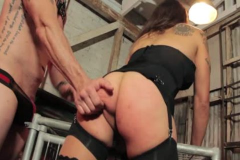 Tori Mayes Has A penis Inserted Into Her ass