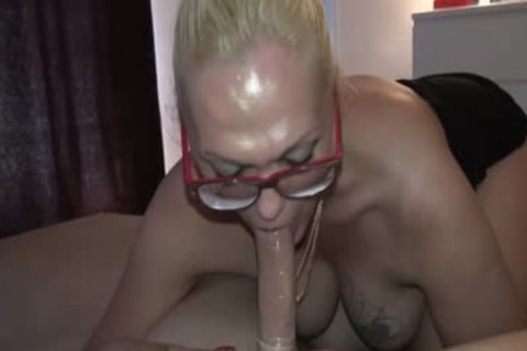 German Post Op t-girl fuck With Fake pussy