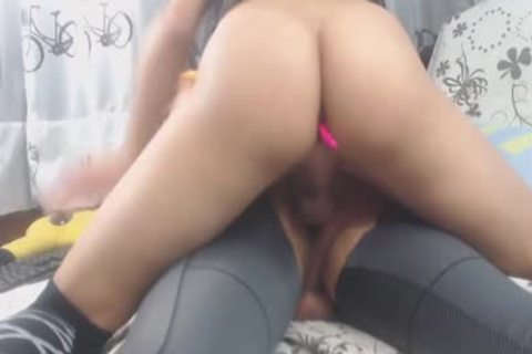 webcam shemale Creampie anal