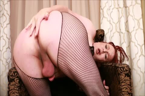plump Bust shemale Wendy Stroking And Shooting A Load