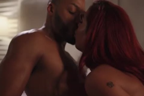 delicious Redhead lalin girl TS pounded By darksome chap