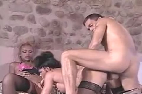 wild gang sex With blonde this babemales