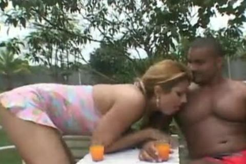 Outdoor Interracial act With A busty Sthis chabmale