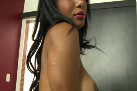 busty latina shemale gets Her butthole plowed Hard.